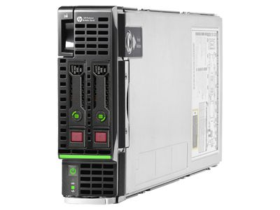Hewlett Packard Enterprise ProLiant BL460c Gen8 E5-2609v2 1P 16GB-L P220i/512 FBWC Server (724087-B21)