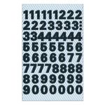 AVERY 3781 Number labels weatherproof  black 9,5mm (130) (3781*10)