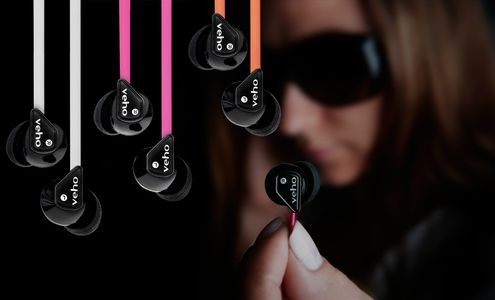 VEHO UK 360 Stereo Earphones (VEP-003-360Z1-P)