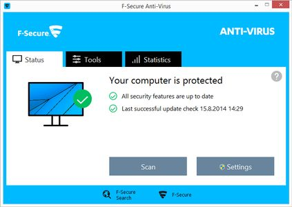 F-SECURE Anti-Virus PC 1year 1user ESD (FCACOB1N001G1)