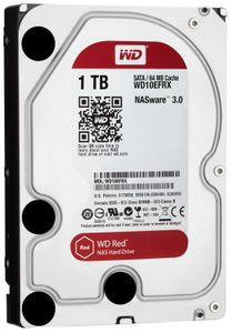 WESTERN DIGITAL RED 1TB 3.5IN SATA6 IN INT (WD10EFRX)