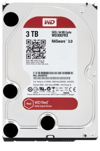 WESTERN DIGITAL RED 3TB 3.5IN SATA6 IN INT (WD30EFRX)
