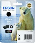 EPSON CLARIA PREMIUM INK BLACK 26 IN SUPL (C13T26014010)