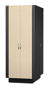 APC NetShelter CX 38U Secure Soundproofed Server Room in a Box Enclosure International (AR4038IA)