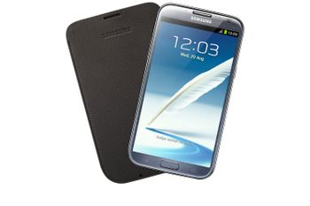 SAMSUNG POUCH DARK BROWN F/ GALAXY NOTE 2 N7100 ACCS (EFC-1J9LDEGSTD)