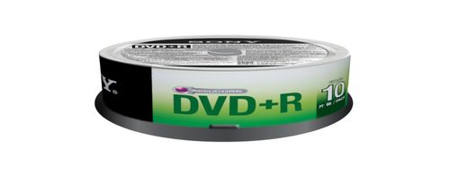 SONY DVD+R, 16X, SPINDLE 10 PCS . SUPL (10DPR47SP)