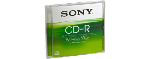 SONY CD-R 48X 700MB JEWEL CASE 1M BASKET ENTRY HDMI CABLE SUPL (CDQ80SJ)