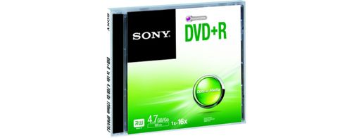 SONY DVD+R, 16X, JEWEL CASE . SUPL (DPR47SJ)