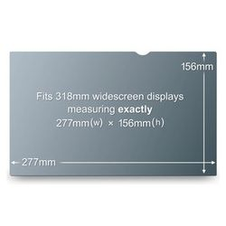 """3M Privacy Filter 12.5"""" WideS (PF12.5W9)"""