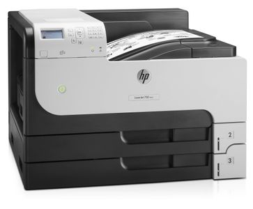 HP LaserJet Enterprise 700 M712dn A3 USB2 LAN 100sh multi tray 2x250sh trays 41ppm A4 20ppm A3 (ML) (CF236A#B19)
