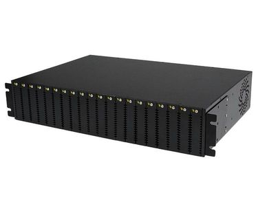 STARTECH 20 Slot Rack Mount Media Converter Chassis for ET Series 2 	 (ETCHS2U)