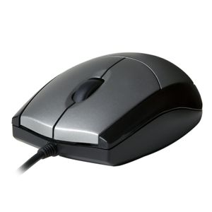 VIDEO SEVEN V7 MOUSE OPTICAL BLK/SIL RETAIL USB 3 BUTTON WHEEL 1000DPI       IN ACCS (MV3000010-5EC)