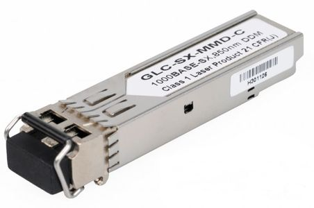 CISCO 1000BASE-SX SFP MMF 850NM DOM COMPATIBLE TRANSC MODULE         IN ACCS (GLC-SX-MMD-C)