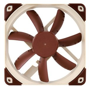 NOCTUA NF-S12A FLX 120mm Vifte 120x 120 x 25 mm, 700~1200 RPM, 65.8~107.5 m³/h, 7,4~17,8 dBA, 3-Pin (NF-S12A FLX)