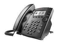 POLYCOM VVX 310 DT PHONE LAN HD VOICE 6-LINE POE. SHIPS W/O PWR SUPL.  IN PERP