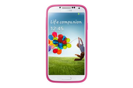 SAMSUNG Galaxy S4 Protective Cover + Pink - qty 1 (EF-PI950BPEGWW)