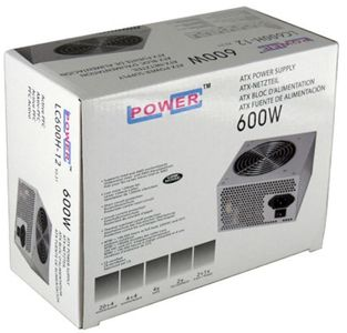 LC POWER Netzteil  600W LC600H-12 (LC600H-12)