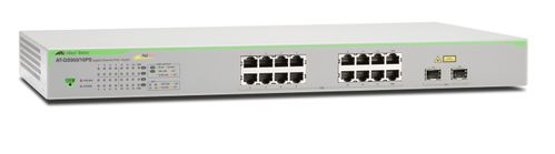Allied Telesis Gigabit Smart Access PoE+ switch 16 ports (AT-GS950/16PS-50)