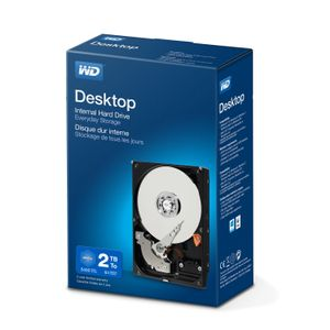 WESTERN DIGITAL DESKTOP MAINSTREAM BLUE 2TB RTL KIT 3.5IN SATA               IN INT (WDBH2D0020HNC-ERSN)
