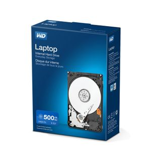 WESTERN DIGITAL LAPTOP MAINSTREAM BLUE 500GB RTL KIT 2.5IN SATA               IN EXT (WDBMYH5000ANC-ERSN)