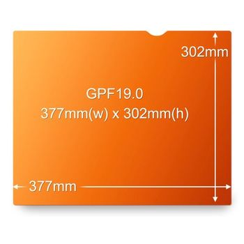 3M GPF19.0 PRIVACY FILTER GOLD FOR 19.0IN / 48.3 CM / 5:4 ACCS (7100026041)