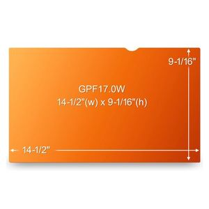 3M GPF17.0W GOLD LAPTOP FOR 17,0IN / 43,2 CM / 16:10 ACCS (98044054967)