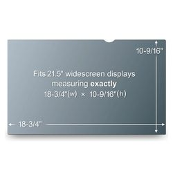 3M PF21.5W9 PRIVACY FLT WIDESCREEN (PF21.5W9)