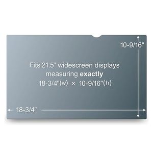 3M Privacy filter for desktop 21.5'' widescreen (PF21.5W9)