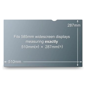 """3M Privacy filter for LCD 23"""" -  16:9 widescreen HD (PF23.0W9)"""