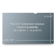 """Privacy filter for LCD 23"""""""" widescreen HD (50,97 x28,69cm) (PF23.0W9)"""