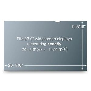 "3M Privacy filter for LCD 23"""" widescreen HD (50,97 x28,69cm) (PF23.0W9)"