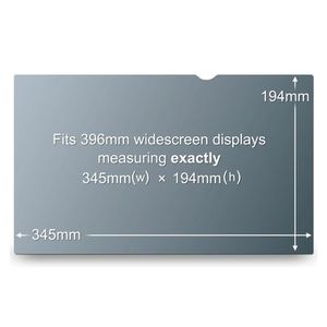 "3M Privacy Filter 15.6"""" WideS  (PF15.6W9)"