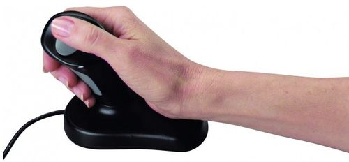 3M Ergonomisk Optical Mouse Small/ Medium  (EM500GPS            )