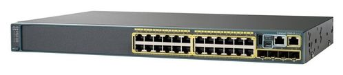 CISCO CATALYST 2960-X 24 GIGE POE 370W, 2 X 10G SFP+, LAN BASE IN CPNT (WS-C2960X-24PD-L)