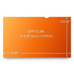 """3M GOLD PRIVACY FILTER 13.3"""" WIDE 16:10 (GPF13.3W)"""
