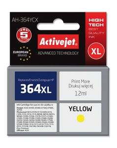 ACTIVEJET TIN AH-364YCX Refill für HP No. 364XL yellow (EXPACJAHP0158)