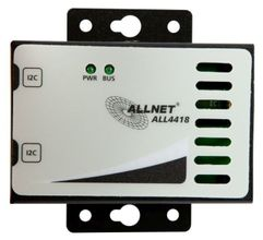 "ALLNET ALL4418 / Kombi-Sensor Luftfeucht/ Temp. ""schwarz"" (ALL4418_black)"