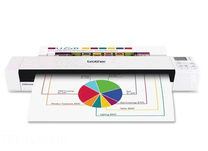 BROTHER DS-820W mobile Duplex Scanner (DS820WZ1)
