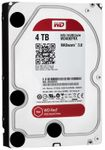 WESTERN DIGITAL Red 4TB SATA 6Gb/s 64MB Cache Internal 3,5inch 24x7 optimized for SOHO NAS systems NASware HDD Bulk (WD40EFRX)
