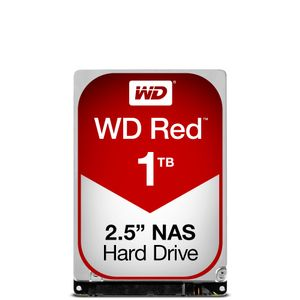 WESTERN DIGITAL Red 1TB SATA 6Gb/s 16MB Cache Internal 2,5inch 24x7 optimized for SOHO NAS systems NASware HDD Bulk (WD10JFCX)