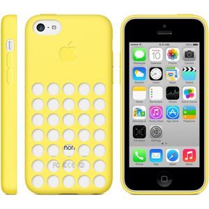 APPLE CASE FOR IPHONE 5C YELLOW (MF038ZM/A)