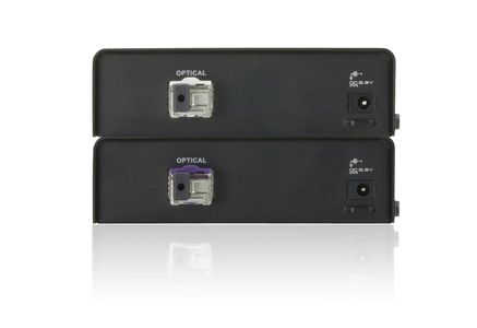 ATEN HDMI-forlenger,  20km, 19-pin ho, RS-232, LC Simplex, svart (VE892-AT-G)