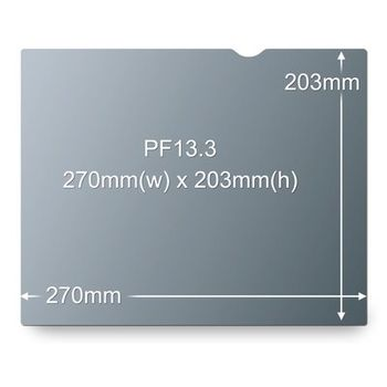 3M PF13.3 PRIVACY FILTER BLACK FOR 13,3IN / 33,8 CM / 4:3       IN ACCS (98-0440-5401-7)