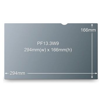 3M PF13.3W9 PRIVACY FILTER BLACK FOR 13,3IN / 33,8 CM / 16:9      IN ACCS (98044054314)