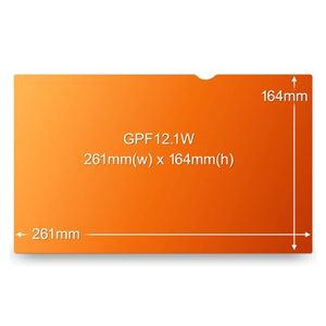 3M GOLD 12.1IN WS PRIVACY FILTER FOR NOTEBOOKS (GPF12.1W)