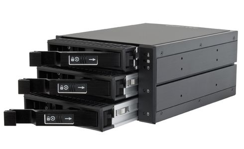 CHIEFTEC 2x5.25 bays for 3 SAS/SATA HDDs (CBP-2131SAS)