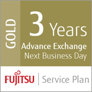 FUJITSU 3 YEAR GOLD SERVICE PLAN EXCH 1-2 DAYS +ACCIDENTAL DAMAGE IN SVCS (UP-36-GOLD-SV600)