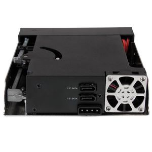 "STARTECH ""Dual Bay 5.25"""" Trayless Hot Swap Mobile Rack Backplane ""	 (HSB2535SATBK)"