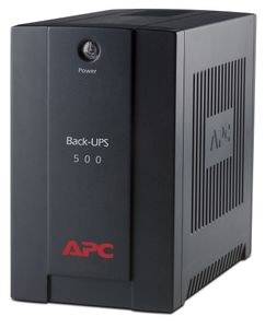 APC Back-UPS 500VA, AVR,  IEC outlets, EU Medium (BX500CI)