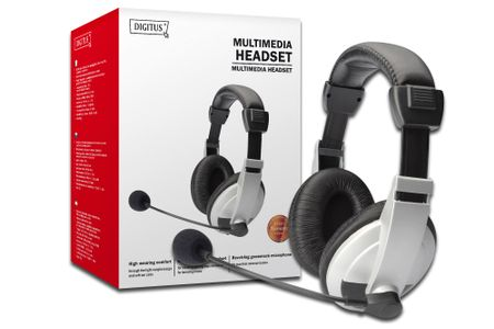 DIGITUS Sou headset 3,5mm Digitus DA-12201 (DA-12201)